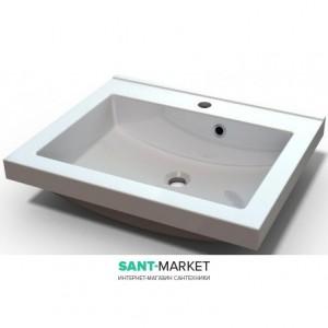 Раковина для ванной встраиваемая Буль-Буль коллекция Josefine Slim белая 5508101
