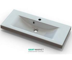 Раковина для ванной встраиваемая Буль-Буль коллекция Selina белая 5208101