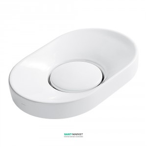Раковина для ванной накладная Galassia коллекция Xes белая 6071
