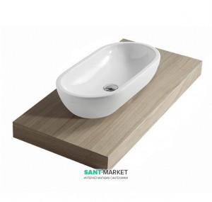 Раковина для ванной накладная Galassia коллекция Midas белая 5234
