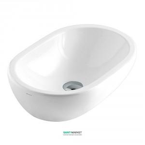 Раковина для ванной накладная Galassia коллекция Midas белая 5233
