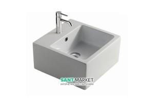 Раковина для ванной подвесная Galassia коллекция Plus Design белая 6034