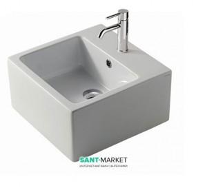 Раковина для ванной подвесная Galassia коллекция Plus Design белая 6034М