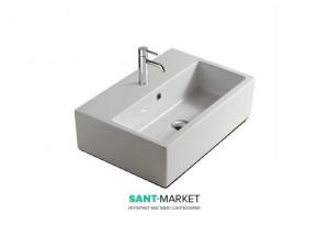 Раковина для ванной подвесная Galassia коллекция Plus Design белая 6032М