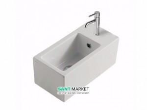Раковина для ванной подвесная Galassia коллекция Plus Design белая 6030