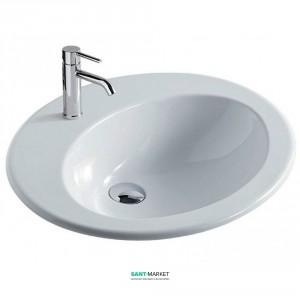 Раковина для ванной встраиваемая Galassia коллекция Eloise белая 6000