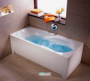 Ванна гидромассажная акриловая Kolo Comfort 190х90х44 белая