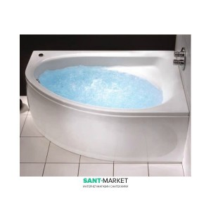 Ванна гидромассажная акриловая угловая Kolo Spring 170х100 правая