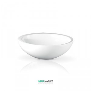 Раковина для ванной накладная AeT коллекция Motivi Spot Middle Plus белая L272T0R0V0