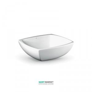 Раковина для ванной накладная AeT коллекция Spot белая L233T0R0V0100