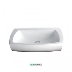 Раковина для ванной накладная AeT коллекция Square белая L284T0RPV1100