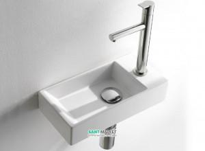 Раковина для ванной подвесная AeT коллекция Acquafredda белый L319T0R1V2
