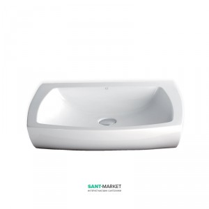 Раковина для ванной накладная AeT коллекция Square белая L282T0R0V0