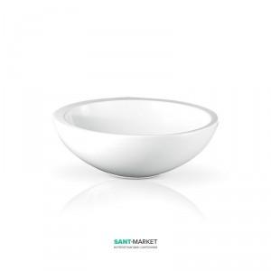 Раковина для ванной накладная AeT коллекция Spot белая L244T0R0V0