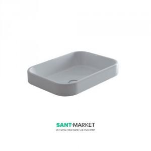 Раковина для ванной накладная Galassia коллекция Meg11 белая 5452