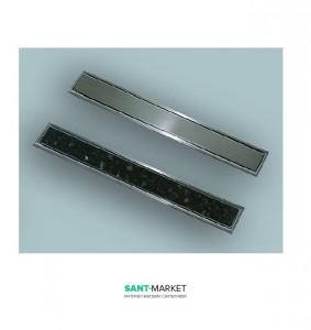 Крышка для установки в дренажный канал Sanit 75 для плитки 03.572.00.0000