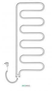 Электрический полотенцесушитель Instal Projekt SPINA Electro 550х1045х55 поворотный, белый SPIE-60/100RW