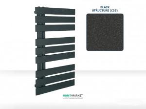 Электрический полотенцесушитель Instal Projekt Nameless 500х900х94-104 стальной графит Nam-50/90C12