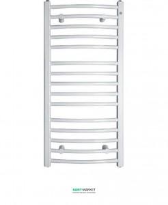 Электрический полотенцесушитель Instal Projekt Ambra R 500х682 стальной белый SAT-50/70+EGB-03C1