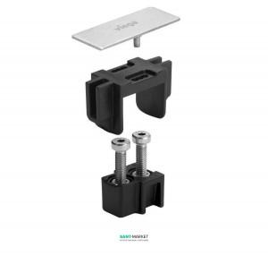 Набор комплектующих для монтажа душевого канала Viega Advantix Vario с декоративной заглушкой 711801
