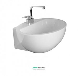 Раковина для ванной накладная Flaminia коллекция Dip белая DP481