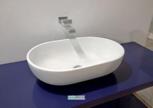 Раковина для ванной накладная Flaminia коллекция Pass белый PS62C