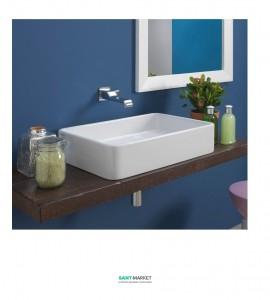 Раковина для ванной накладная Flaminia коллекция Miniwash белая MWL75