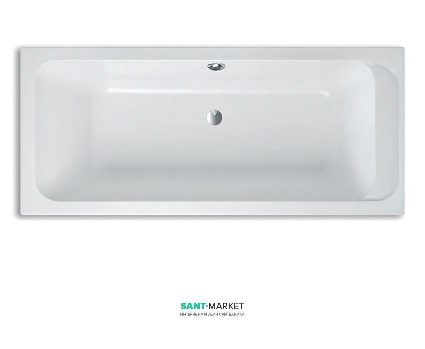 Ванна акриловая прямоугольная Villeroy&Boch Omnia Architectura 170х80х48 UBA178ARA2V-01