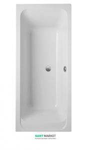 Ванна акриловая прямоугольная Villeroy&Boch Omnia Architectura 180х80х50 UBA180ARA2V-01