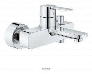Смеситель однорычажный для ванны с коротким изливом Grohe Lineare хром 33849001