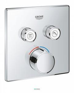 Внешняя панель смесителя Grohe SmartControl на 2 выхода хром 29148000