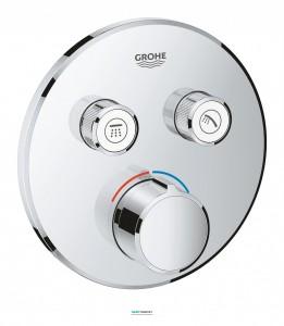 Внешняя панель смесителя Grohe SmartControl на 2 выхода хром 29145000