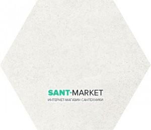 Плитка напольная Equipe Hexatile Cement White 17,5*20 22092