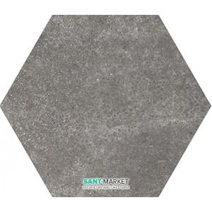 Плитка напольная Equipe Hexatile Cement Black 17,5*20 22094