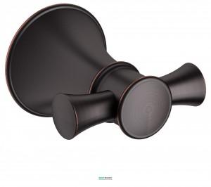 Крючок для ванны двойной  Imprese Podzimu Zrala бронза ZMK02170821
