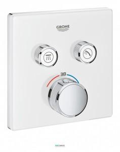 Внешняя панель термостата Grohe Grohtherm SmartControl на 2 выхода белый 29156LS0