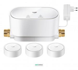 Интеллектуальное управление водой Grohe Sense Set + 3x Интеллектуальный датчик воды 22502LN0