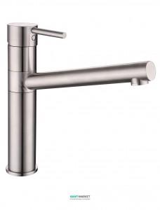 Смеситель для кухни Imprese Lotta однорычажный сталь 55402-SS