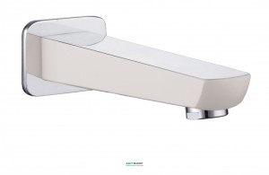 Излив для ванны Imprese Breclav белый VR-11245W