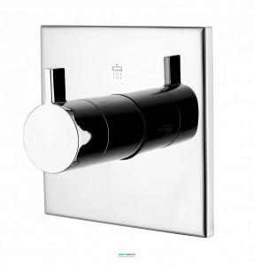Вентиль запорный/переключающий Imprese Zamek для ванны/душа на 3 потребителя хром VR-151032