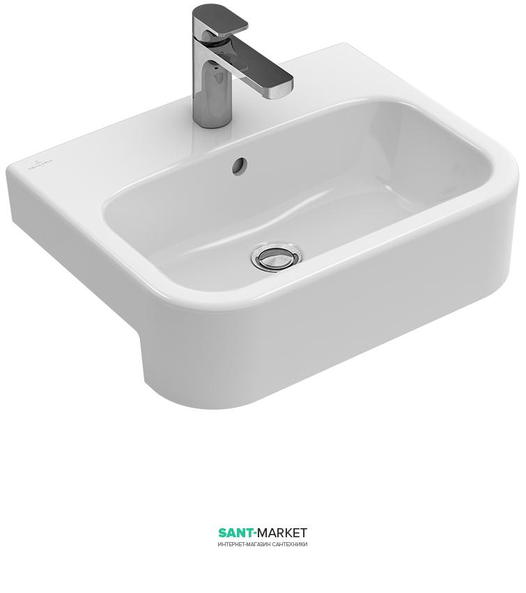 Раковина для ванной встраиваемая Villeroy&Boch коллекция Architectura белый 41905501