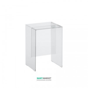 Стул Laufen Kartell transparent crystal 33x28x46.5 H3893300840001