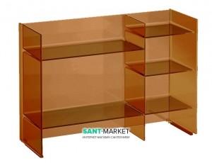 Стеллаж Laufen Kartell amber 53x75x26 H3893310810001