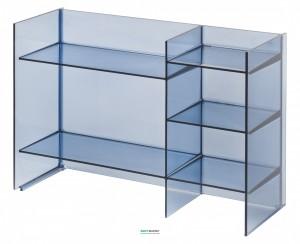 Стеллаж Laufen Kartell blue 53x75x26 H3893310830001