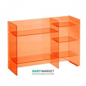 Стеллаж Laufen Kartell tangerine orange 53x75x26 H3893310820001