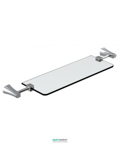Полочка для ванной Imprese Cuthna хром 160280 stribro