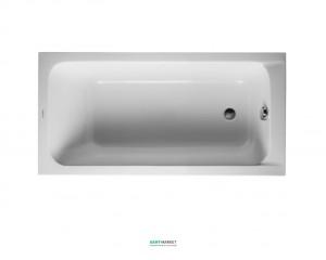 Ванна акриловая прямоугольная Duravit D-Code 160х70х40 белая 700096000000000
