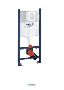 Система инсталляции для подвесного унитаза Grohe Rapid SL с подключениями 38840000