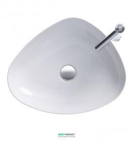Раковина для ванной накладная Duravit коллекция Cape Cod 50х39.5х10 белая 2339500000