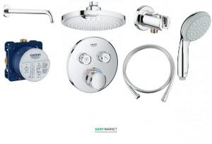 Душевая система Grohe SmartControl с душевым гарнитуром хром 34614SC0